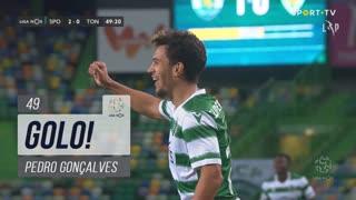 GOLO! Sporting CP, Pedro Gonçalves aos 49', Sporting CP 2-0 CD Tondela