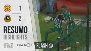 Liga NOS (34ªJ): Resumo Flash CD Nacional 1-2 Rio Ave FC