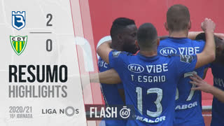 Liga NOS (15ªJ): Resumo Flash Belenenses SAD 2-0 CD Tondela