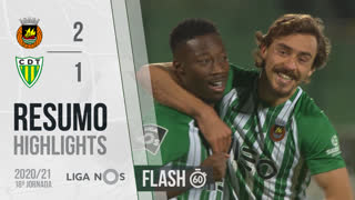 Liga NOS (18ªJ): Resumo Flash Rio Ave FC 2-1 CD Tondela