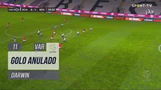 SL Benfica, Golo Anulado, Darwin aos 11'