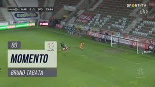 Sporting CP, Jogada, Bruno Tabata aos 80'