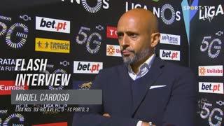 """Miguel Cardoso: """"Temos tido dificuldade em fazer golos"""""""