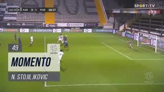 SC Farense, Jogada, N. Stojiljkovic aos 49'