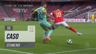 SL Benfica, Caso, Otamendi aos 56'