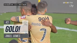 GOLO! Boavista FC, Angel Gomes aos 43', SC Farense 1-1 Boavista FC