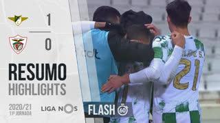 I Liga (11ªJ): Resumo Flash Moreirense FC 1-0 Santa Clara