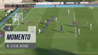 SC Farense, Jogada, N. Stojiljkovic aos 4'