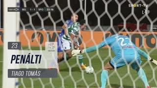 Sporting CP, Penálti, Tiago Tomás aos 23'