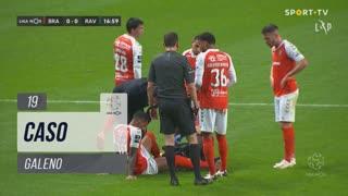 SC Braga, Caso, Galeno aos 19'