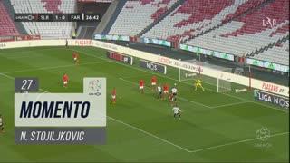 SC Farense, Jogada, N. Stojiljkovic aos 27'
