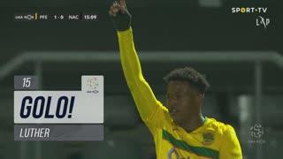 GOLO! FC P.Ferreira, Luther aos 15', FC P.Ferreira 1-0 CD Nacional