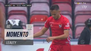 Gil Vicente FC, Jogada, Leauty aos 60'