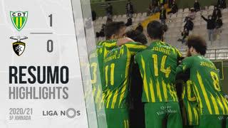 I Liga (5ªJ): Resumo CD Tondela 1-0 Portimonense