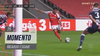 SC Braga, Jogada, Ricardo Esgaio aos 25'