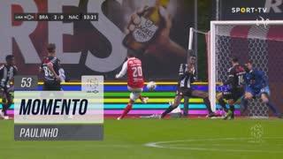 SC Braga, Jogada, Paulinho aos 53'