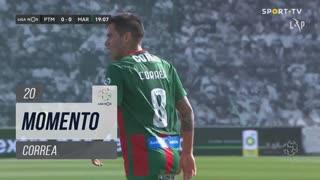 Marítimo M., Jogada, Correa aos 20'