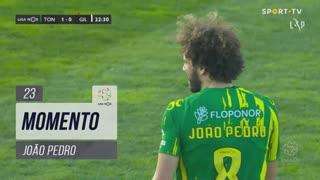 CD Tondela, Jogada, João Pedro aos 23'