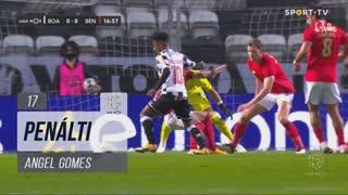 Boavista FC, Penálti, Angel Gomes aos 17'
