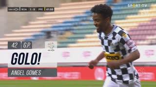 GOLO! Boavista FC, Angel Gomes aos 42', Boavista FC 2-0 FC P.Ferreira