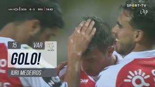 GOLO! SC Braga, Iuri Medeiros aos 15', Boavista FC 0-2 SC Braga