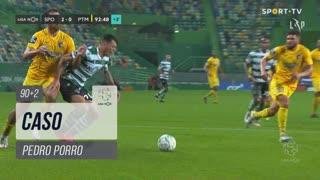 Sporting CP, Caso, Pedro Porro aos 90'+2'