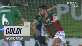 GOLO! Marítimo M., Rodrigo Pinho aos 65', CD Nacional 1-2 Marítimo M.