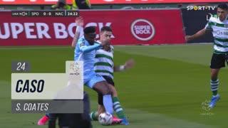 Sporting CP, Caso, S. Coates aos 24'