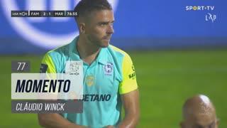 Marítimo M., Jogada, Cláudio Winck aos 77'
