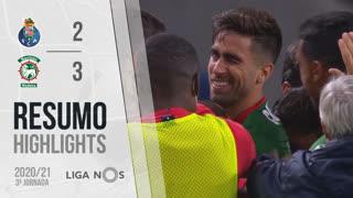 Liga NOS (3ªJ): Resumo FC Porto 2-3 Marítimo M.