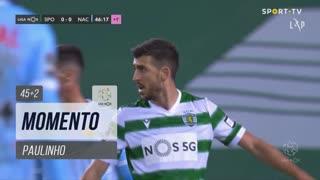 Sporting CP, Jogada, Paulinho aos 45'+2'