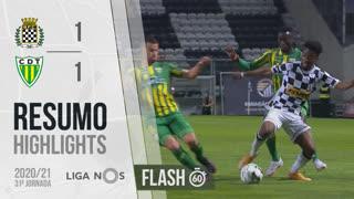 Liga NOS (31ªJ): Resumo Flash Boavista FC 1-1 CD Tondela