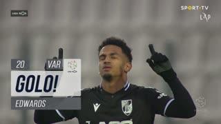 GOLO! Vitória SC, Edwards aos 20', Moreirense FC 1-1 Vitória SC