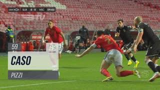 SL Benfica, Caso, Pizzi aos 59'