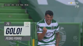 GOLO! Sporting CP, Pedro Porro aos 79', Sporting CP 3-0 CD Tondela
