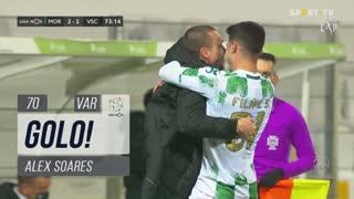 GOLO! Moreirense FC, Alex Soares aos 70', Moreirense FC 2-2 Vitória SC