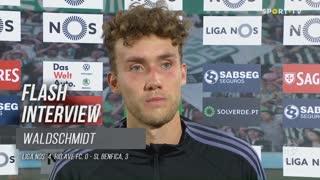 Waldschimdt dedicou vitória a André Almeida