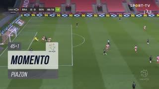 SC Braga, Jogada, Piazon aos 45'+1'