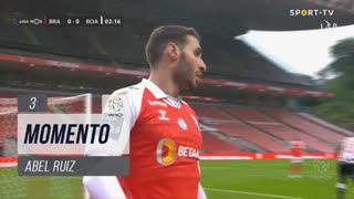 SC Braga, Jogada, Abel Ruiz aos 3'