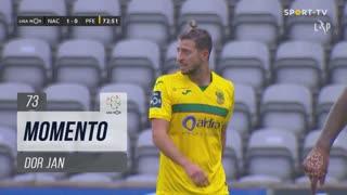 FC P.Ferreira, Jogada, Dor Jan aos 73'