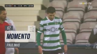 Sporting CP, Jogada, Paulinho aos 62'