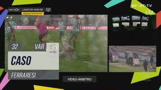 Moreirense FC, Caso, Ferraresi aos 32'