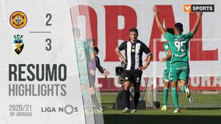 Liga NOS (19ªJ): Resumo CD Nacional 2-3 SC Farense