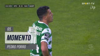 Sporting CP, Jogada, Pedro Porro aos 65'