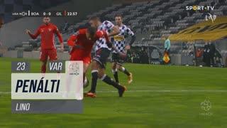 Gil Vicente FC, Penálti, Lino aos 23'