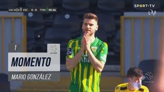 CD Tondela, Jogada, Mario González aos 1'