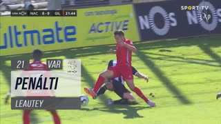 Gil Vicente FC, Penálti, Leautey aos 21'