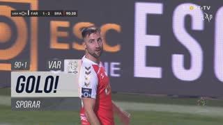 GOLO! SC Braga, Sporar aos 90'+1', SC Farense 1-2 SC Braga