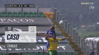 FC P.Ferreira, Caso, Tanque aos 19'