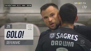 GOLO! SL Benfica, Seferovic aos 25', Moreirense FC 0-1 SL Benfica